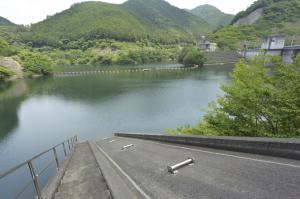 松田川ダム見学会9
